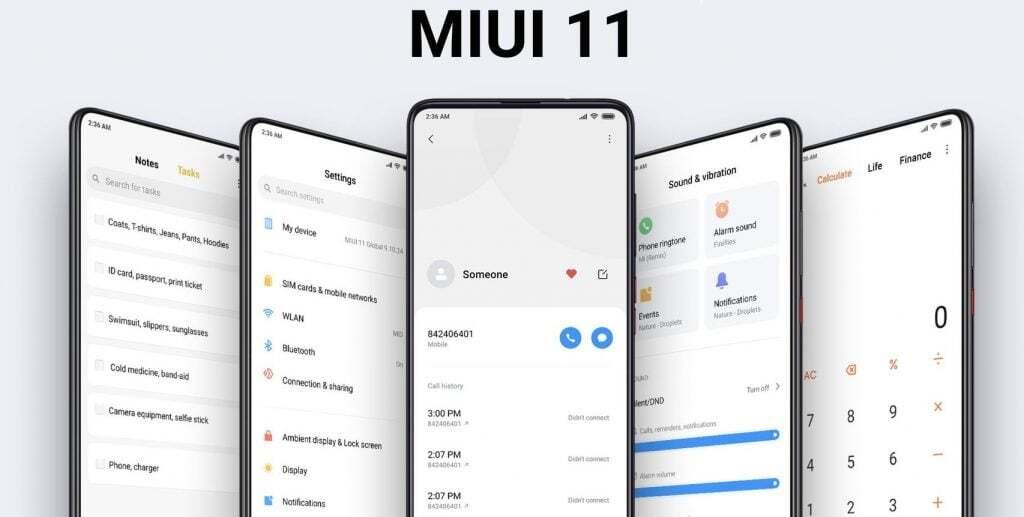 MIUI 11 Global Test