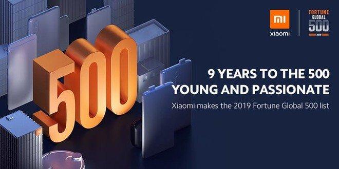 Fortune Global 500 Listesinde Xiaomi